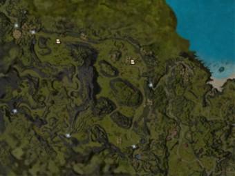 Carte détaillée - Plateau Nebo