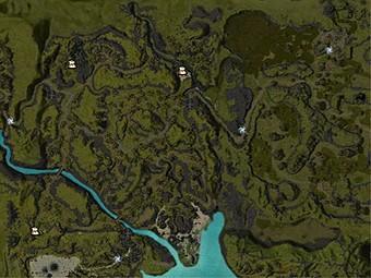 Carte détaillée - Lande de Talmark