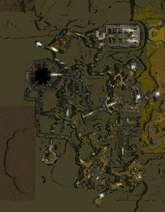 Carte générale - Les Catacombes