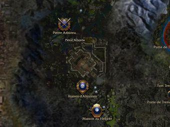 Carte générale - Pierre Arborea (Mission en mode coopératif)