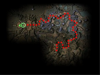 Carte de la quête: Quelque chose de maléfique est en chemin