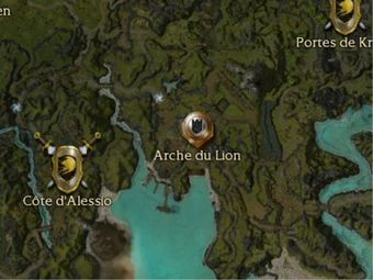 Carte générale - Porte du Lion