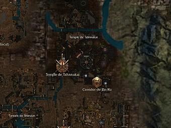 Carte générale - Temple de Tahnnakai