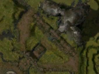 Carte générale - Donjon de l'Arche du Lion