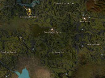 Carte générale - Temple des Ages